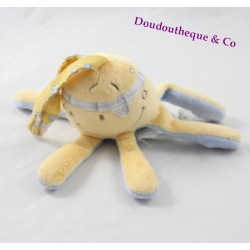 Doudou NOUKIE Calypso musical mini's Octopus of Bill and Bono 15 cm