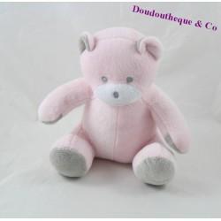 Bears Doudou MUSTI Mustela pink grey 18 cm
