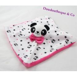 Doudou flat black white Star Pink KIMADI panda