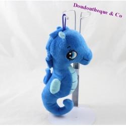 Peluche hippocampe SANDY bleu 22 cm