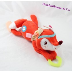Stuffed Fox LILLIPUTIANS Indian awakening orange Bell 30 cm
