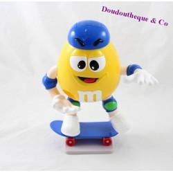 Distributeur M&M'S m&ms jaune skate bleu 21 cm