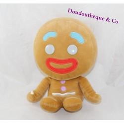 Peluche Tibiscuit BIG HEADZ Shrek Ptit biscuit 24 cm assis