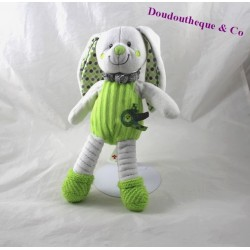 Plush rabbit green peas NICOTOY coat bird 28 cm
