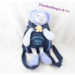 Doudou koala HISTOIRE D'OURS mon doudou en balade 30 cm sac à dos