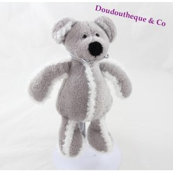Plush mouse gray White bear story 22 cm
