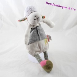 Sheep Doudou MOULIN ROTY Cousins of the 31 cm beige mill