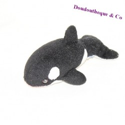 Stuffed Orca MARINELAND black white 18 cm
