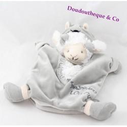Doudou marionnette mouton DOUDOU ET COMPAGNIE déguisé en loup