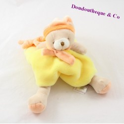 Bears Doudou DOUDOU and company graffiti yellow orange DC2555 20 cm