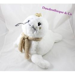 Plush seal ETAM range Pajamas doudou bouillotte 46 cm