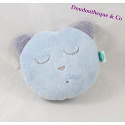 Tête endormi d'ours MYHUMMY bleu bruit endormissement bébé