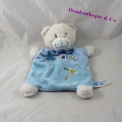 Bear flat Doudou TEX BABY turtle Hide and Seek 25 cm