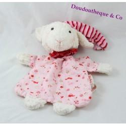 Sheep flat Doudou KÄTHE KRUSE pink Cap 23 cm