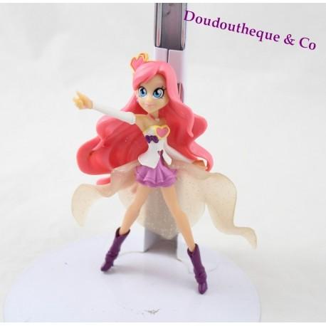 Figurine Princesse Iris QUICK Lolirock chanteuse rose PVC 11 cm