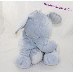 Plush Ferdinand 35 cm Blue bread and chocolate elephant