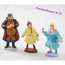Ensemble 3 figurines Anastasia FOX 97 GTI Anya Sophie et Vladimir