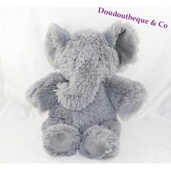Plush elephant J-LINE gray Jline 30-38 cm