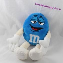 Peluche bonbon chocolat bleu M&M'S World officielle 25 cm