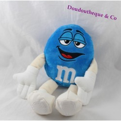 Plush blue chocolate candy M & me S official World 25 cm