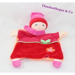 Doudou puppet COROLLE Babipouce grenadine first age 26 cm