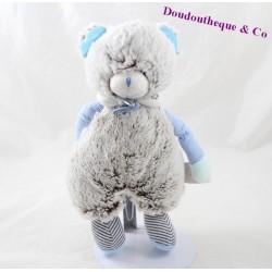 Doudou ours DOUDOU ET COMPAGNIE Les Choupidoux gris bleu DC2762 25 cm