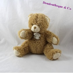 Teddy bear story bear beige sitting hair long 20 cm