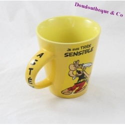 Ceramic mug Astérix and oBIX PARC ASTERIX I am... Yellow 11 cm