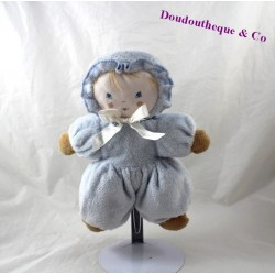 AJENA rag doll Blue Ribbon knot 24 cm