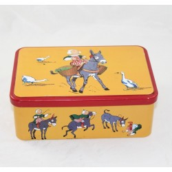 Box metal snipe IMAGE EDITION donkey sugar box or cake box