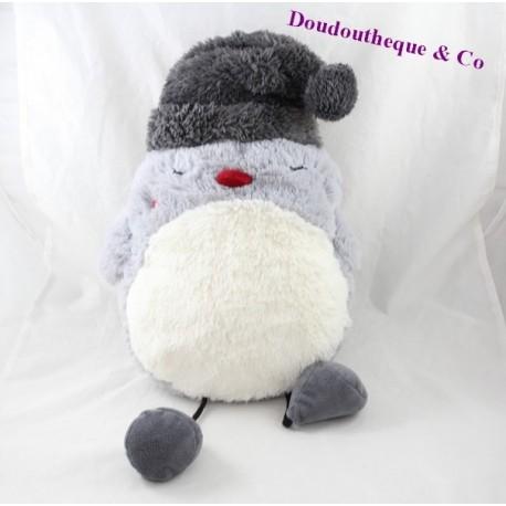 Plush OWL ETAM OWL range pyjamas Doudou bottle warmer bonnet 38 cm