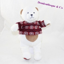 Peluche ours IDEAL PROMOTION Sergent Major Les pyjamas rêveurs pull 32 cm