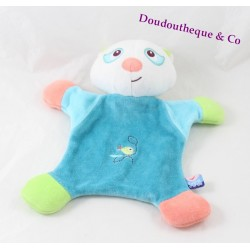 Doudou flat raccoon sugar Doudou Blue Bird done 22 cm