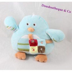 Don chick bird sugar bag blue striped strap 13 cm