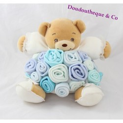 Blankie bear KALOO Bouquet of violet blue roses bear budderball 20 cm