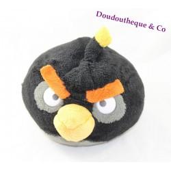 Peluche ANGRY BIRDS oiseau noir Black Bird 18 cm