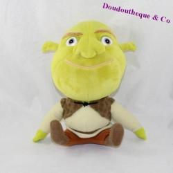 Peluche Shrek BIG HEADZ Dreamworks ogre vert 23 cm