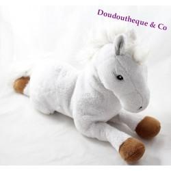 Plush horse GIPSY Bella Sara white Brown 40 cm