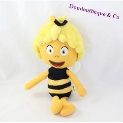 Peluche Maya l'abeille STUDIO 100 Arkopharma jaune noir 34 cm