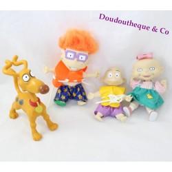 Lot mini poupées Les Razmoket Charles-Edouard Sophie Dil et Hubert