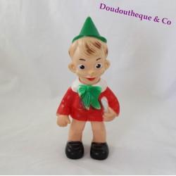 Figurine pouet vintage Pinocchio éléphant Made in Italy 24 cm