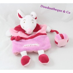 Cuddly puppet mouse Doudou and company blankie seeds