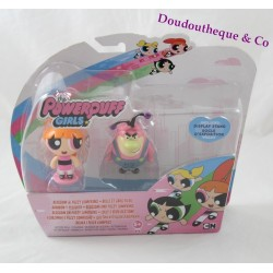 Figurine Belle et Gros Filou LES SUPERS NANAS the Powerpuff girls