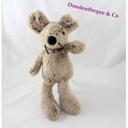 Plush mouse ANIMADOO beige black the cuddly tenderness 35 cm