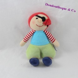 Mini toy pirate sterntaler blue green Bell 17 cm
