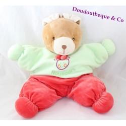 Plush rabbit pyjama range Teddy bear red green 40 cm