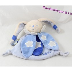 Doudou rabbit Doudou and company OWL shiny blue glow