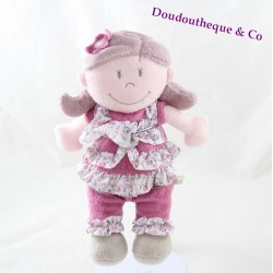 Doudou doll Kenza NOUKIE's Kali Nina and Kenza girl 30 cm