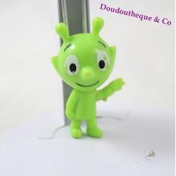 Figurine vert Petit Poa BAYARD JEUNESSE SERGE BLOCH 5 cm Samsam  2000