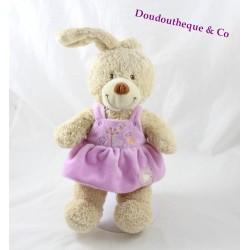 Plush rabbit TEX BABY Purple Butterfly tree dress 30 cm